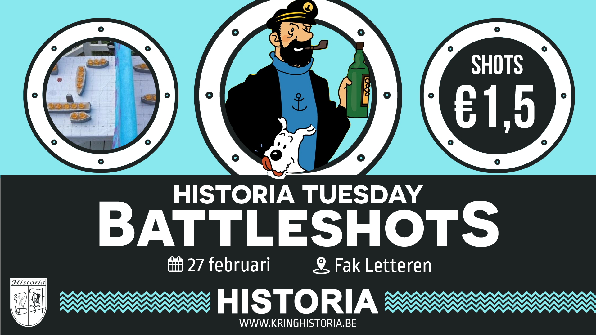 Battleshots • Historia Tuesday