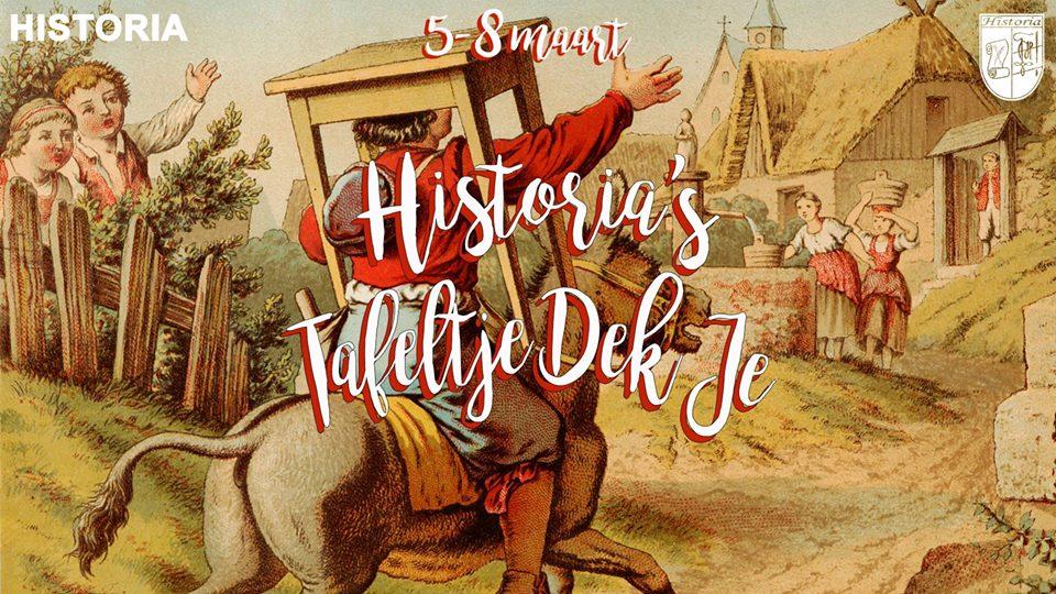 Tafeltje Dek Je: eetverkopen [Once upon a time... FEESTWEEK]