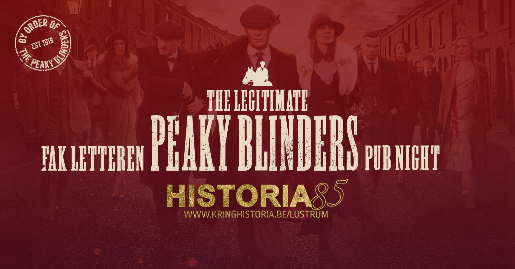 Peaky Blinders Pub Night ⎢Kring Historia 85